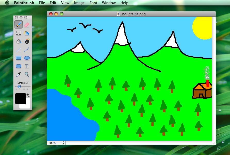 équivalent Paint mac